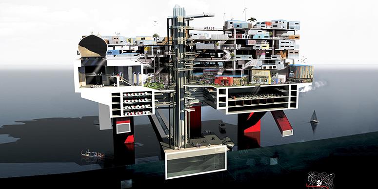 钻井平台改装城市:能拯救马尔代夫吗?