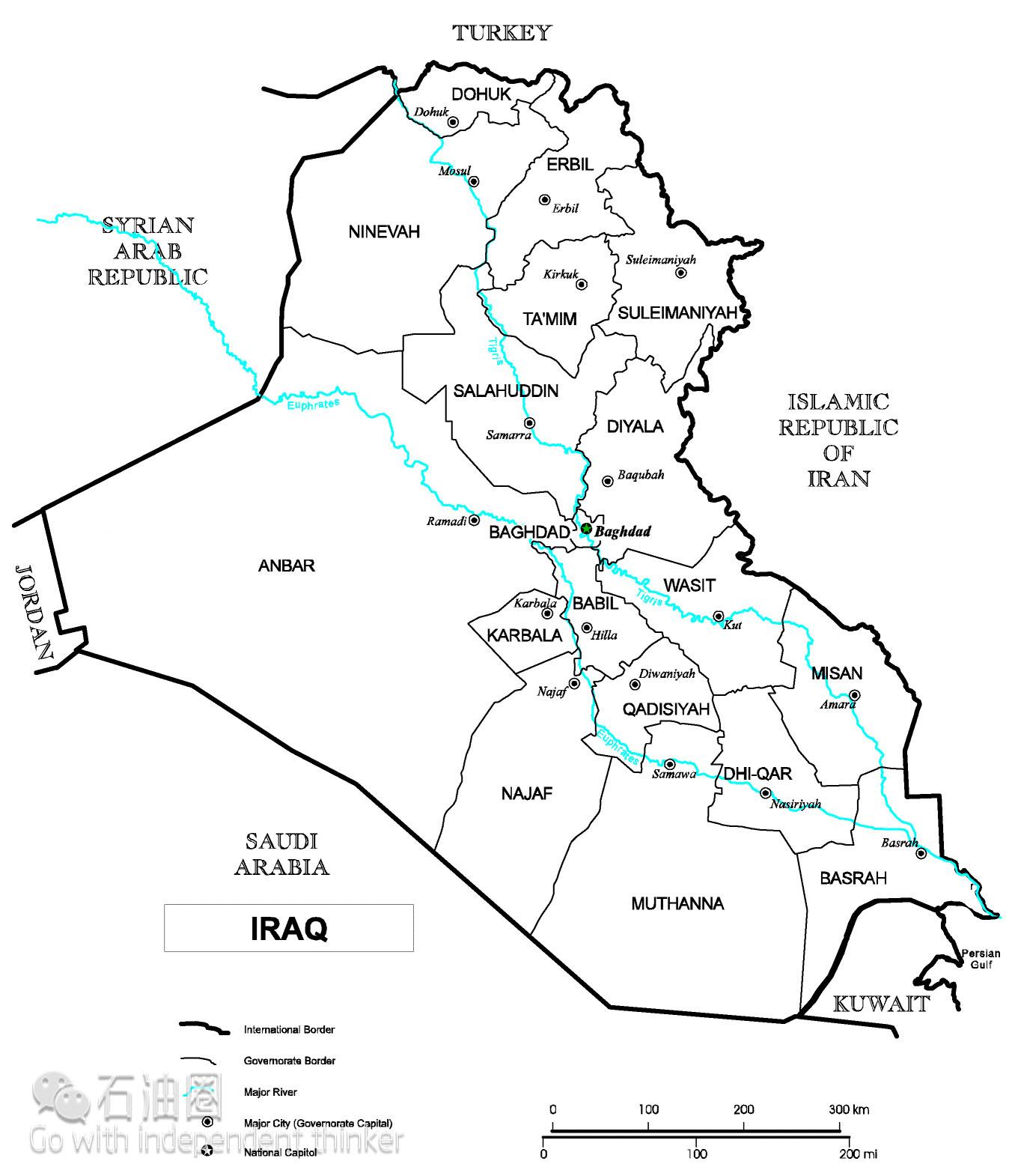伊拉克,是阿拉伯半岛东北部国家。伊拉克石油资源富集,增产潜力巨大。据BP世界能源统计,截至2015年底,伊拉克的剩余探明石油储量约为1430亿桶,储量居世界第五位。1979年,伊拉克的原油产量达到历史峰值。尽管之后受到各种政治、军事不利因素的制约,2005年之后伊拉克石油再次进入增产期。伊拉克已经逐步脱离了美国的掌控,伊拉克油气工业也走上了独立发展之路。 在这片百废待兴的土地上,国内石油开发和外国投资缺乏法律依据,可操作性的石油行业法规严重缺失,但伊拉克是中东国家唯一愿意开放石油工业的国家,招标态度也由