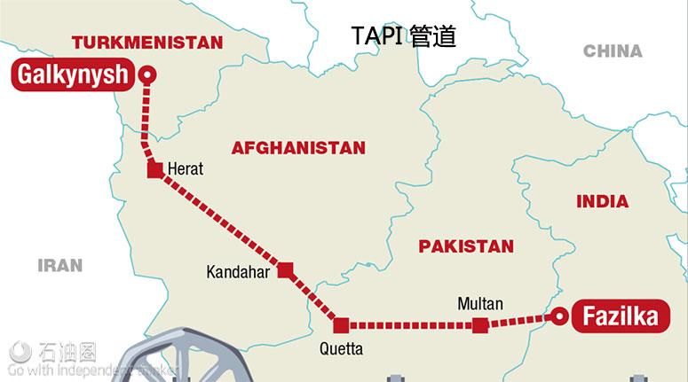 全球10大天然气管道项目一览(下)