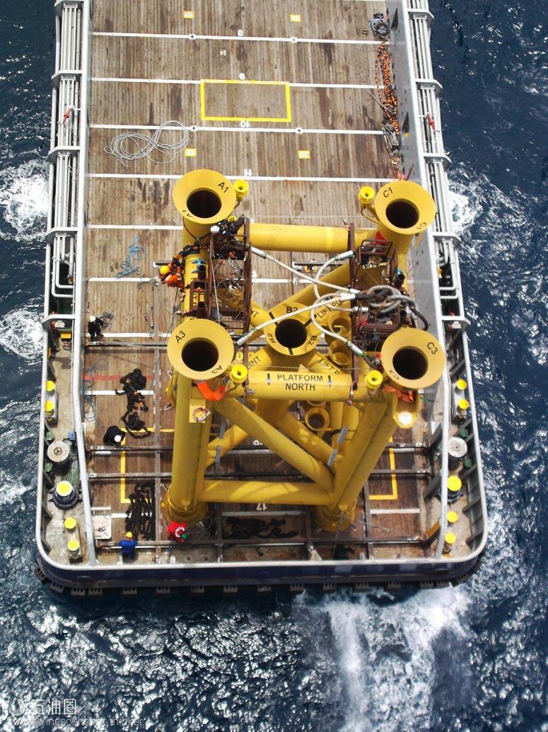 浅海开发省钱新招:隔水套管支撑平台抵达新深度