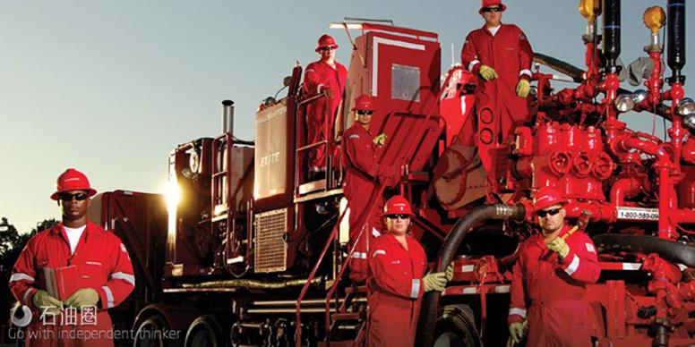 刚刚!哈里伯顿收购完成了一个油田设备供应商 油服巨头的新战场正式打响